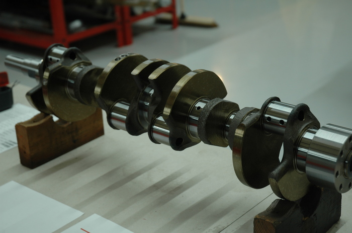 New DB9 Crankshaft